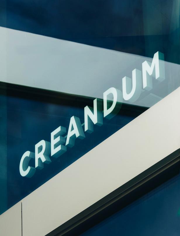 Creandum custom 3D Letters