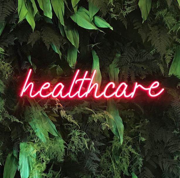 Healthcare custom Neon sign