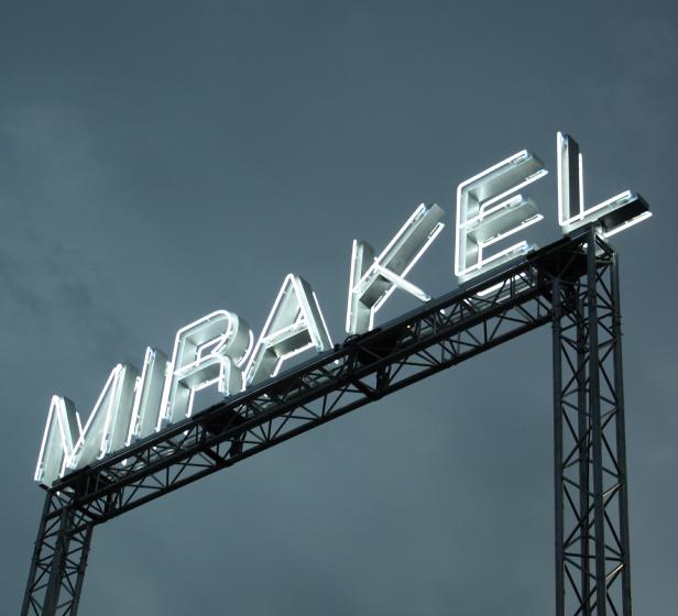 Mirakel custom Neon sign