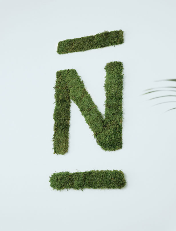 N26 custom Moss sign