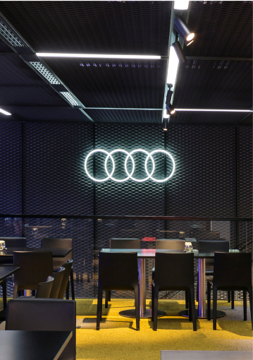 Audi custom Neon sign