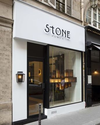 """Direct to wall 2D Letters with the """"Stone"""" sign"""