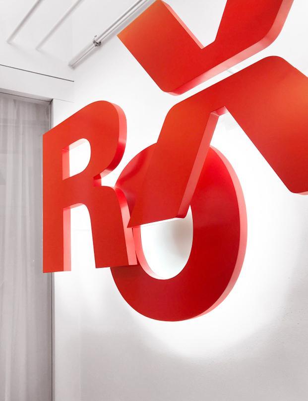 ROX custom 3D Letters
