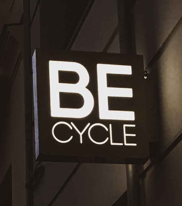 Be Cycle custom Lightbox