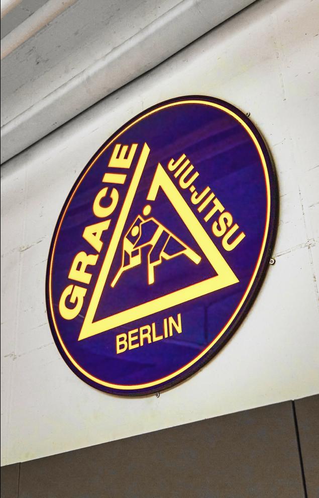 Gracie Jiu-Jitsu Berlin custom Lightbox