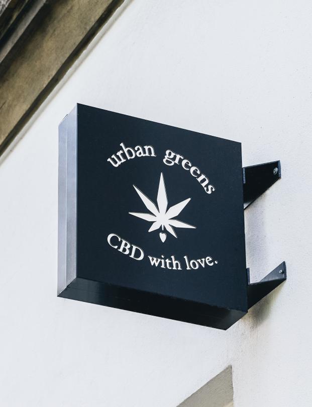 Urban Greens CBD custom Lightbox