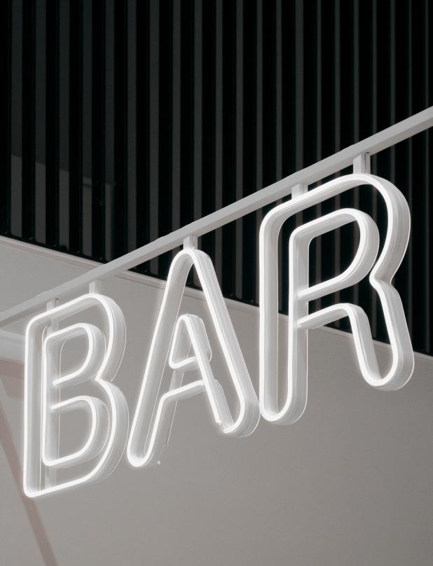 Bar Individuelles Neon Schild