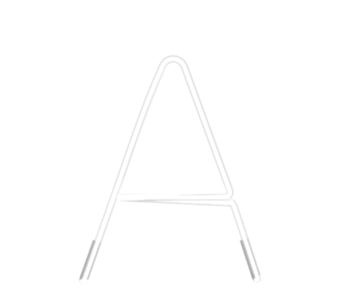 "Technical drawing of the product Neon with the letter ""A"""