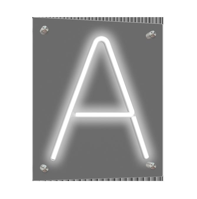 Individuelles Neon Schild